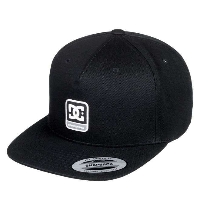 0 Boy's 8-16 Snapdragger Snapback Hat Black ADBHA03094 DC Shoes