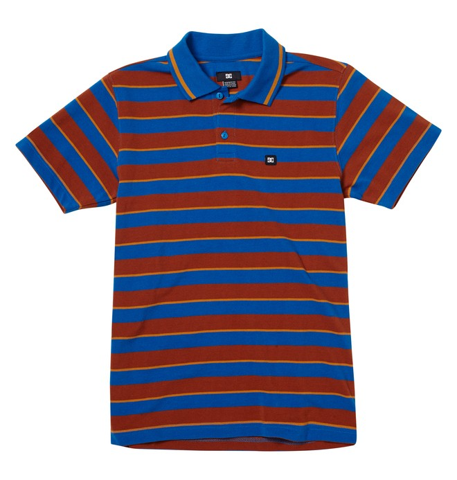 0 Boy's Hilltop Polo  ADBKT00121 DC Shoes