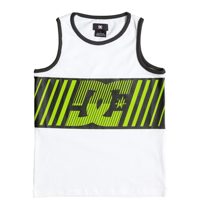 0 Boy's 8-16 Gun It  Tank  ADBKT03005 DC Shoes