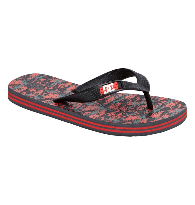0 Boy's Spray Graffik Flip-Flops  ADBL100008 DC Shoes