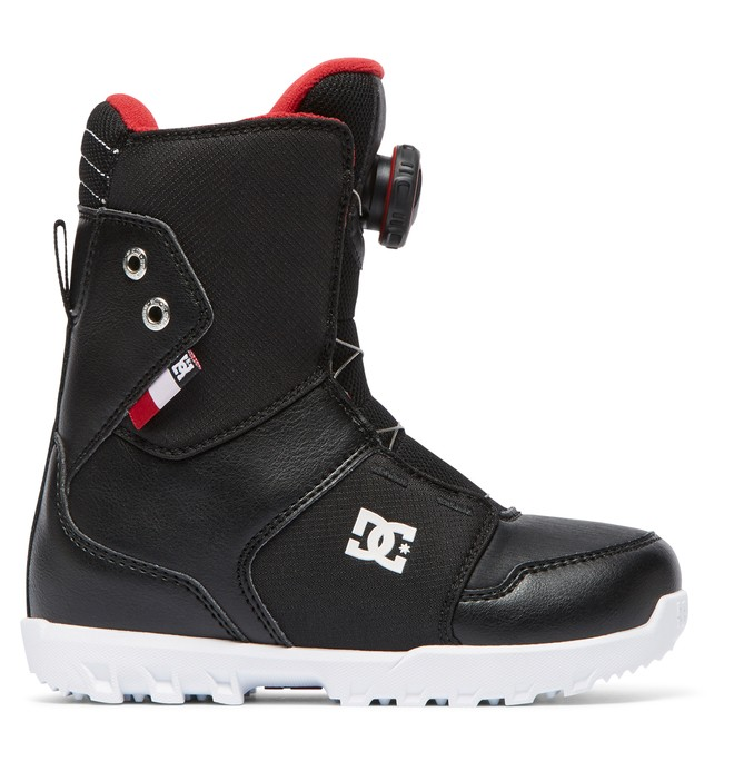 0 Boy's 8-16 Youth Scout BOA Snowboard Boots  ADBO100005 DC Shoes
