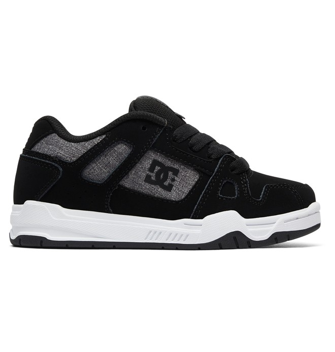 0 Boy's 8-16 Stag Shoes Black ADBS100024 DC Shoes