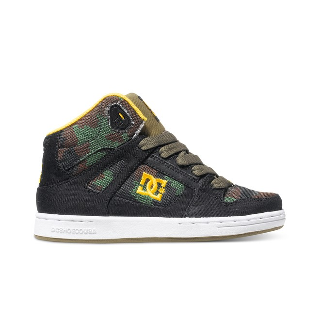 0 Kid's 4-7 Rebound TX SE High-Top Shoes  ADBS100068 DC Shoes