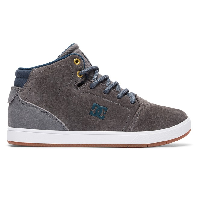 0 Crisis High - High-Top Shoes for Boys Grey ADBS100111 DC Shoes