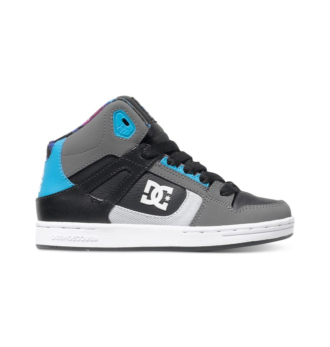 0 Boy's 8-16 Rebound Ken Block High-Top Shoes  ADBS100149 DC Shoes