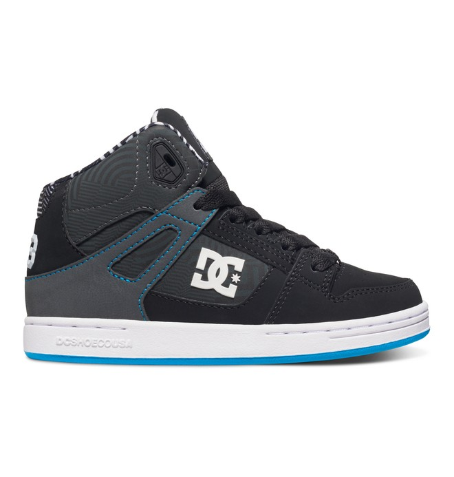 0 Boy's 8-16 Rebound KB  High Top Shoes  ADBS100182 DC Shoes
