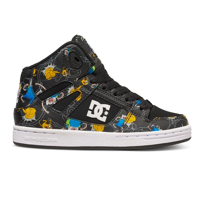 0 Boy's 4-7 Rebound X AT High Top Shoes  ADBS100189 DC Shoes