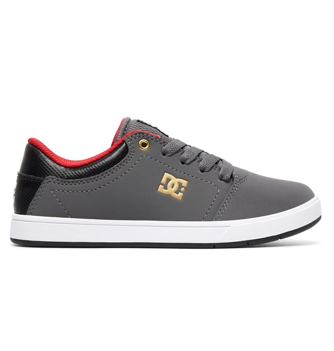0 Boy's 8-16 Crisis Shoes Grey ADBS100209 DC Shoes