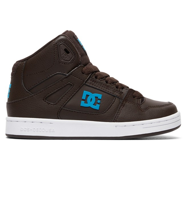 0 Rebound - High-Top Shoes Brown ADBS100214 DC Shoes