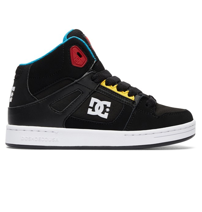 0 Rebound - Zapatillas Altas Negro ADBS100214 DC Shoes