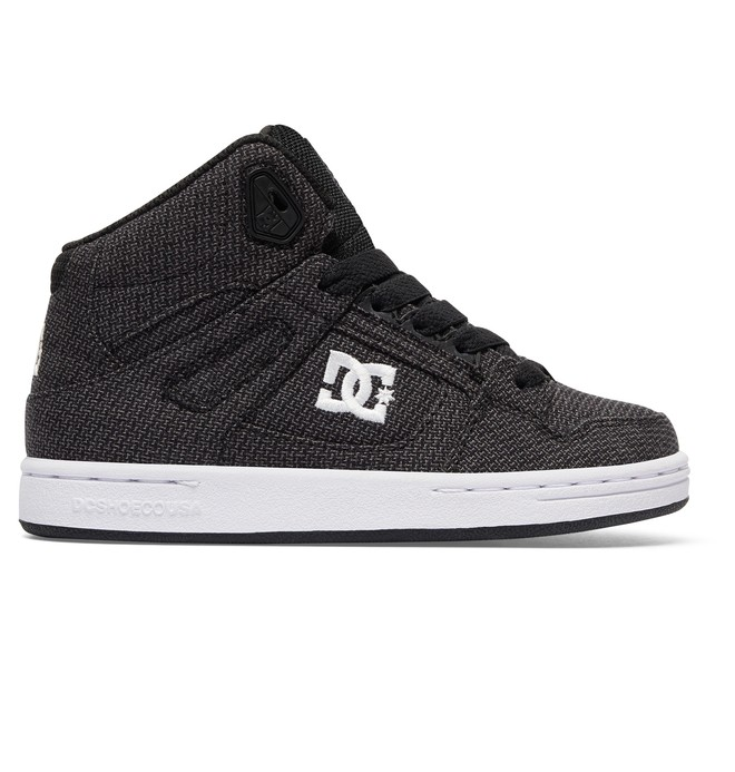 0 Boy's 4-7 Rebound TX SE High Top Shoes  ADBS100217 DC Shoes