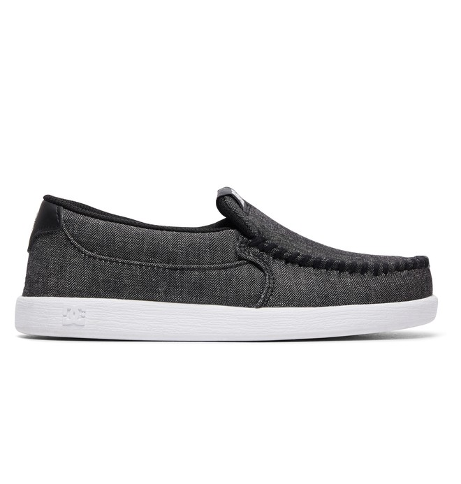 0 Kid's Villain TX SE Shoes Grey ADBS100224 DC Shoes