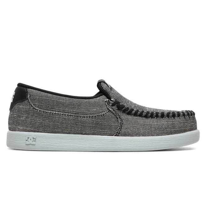 0 Boy's 8-16 Villain TX SE Slip-On Shoes Grey ADBS100224 DC Shoes