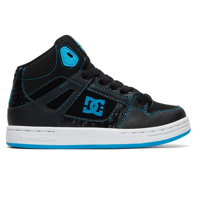 0 Boy's Pure High-Top Shoes Orange ADBS100242 DC Shoes