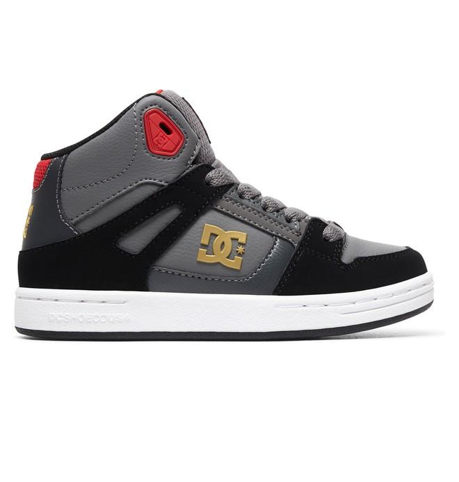 0 Pure High - Chaussures montantes pour Garçon Gris ADBS100242 DC Shoes