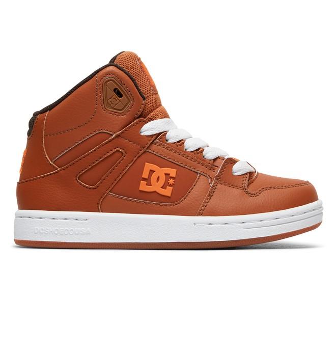 0 Pure High - Chaussures montantes pour Garçon Marron ADBS100242 DC Shoes