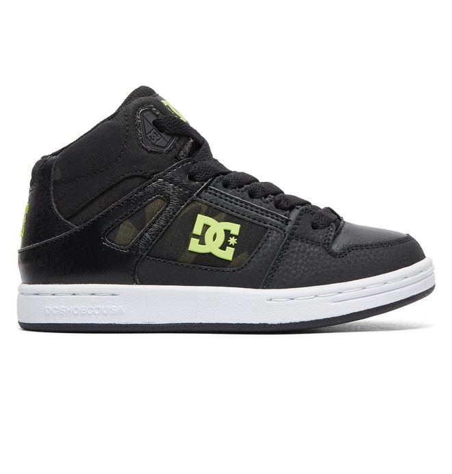 0 Pure High SE - Zapatillas de caña alta para Chicos Negro ADBS100244 DC Shoes
