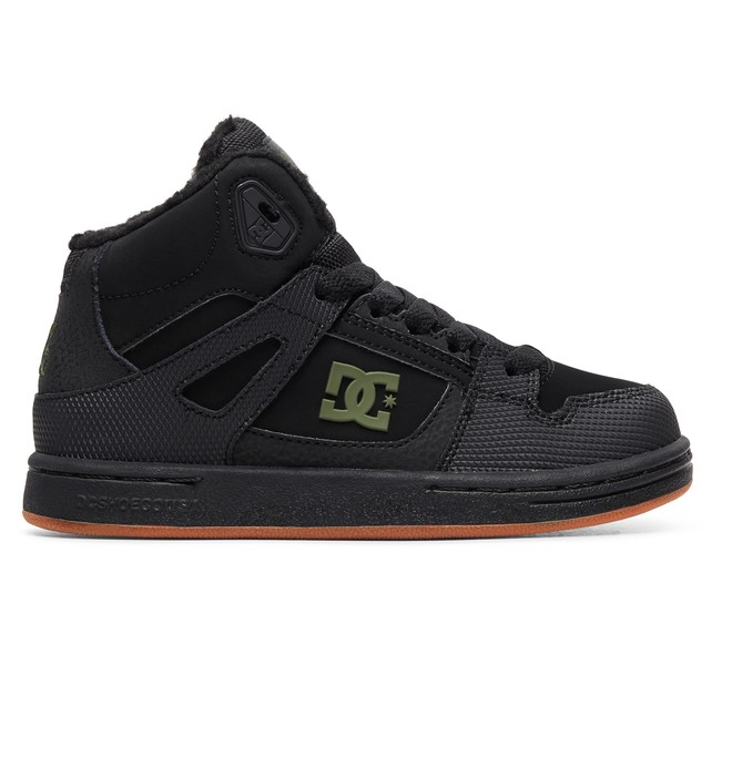 0 Boy's Pure WNT Winter High-Top Boots  ADBS100245 DC Shoes