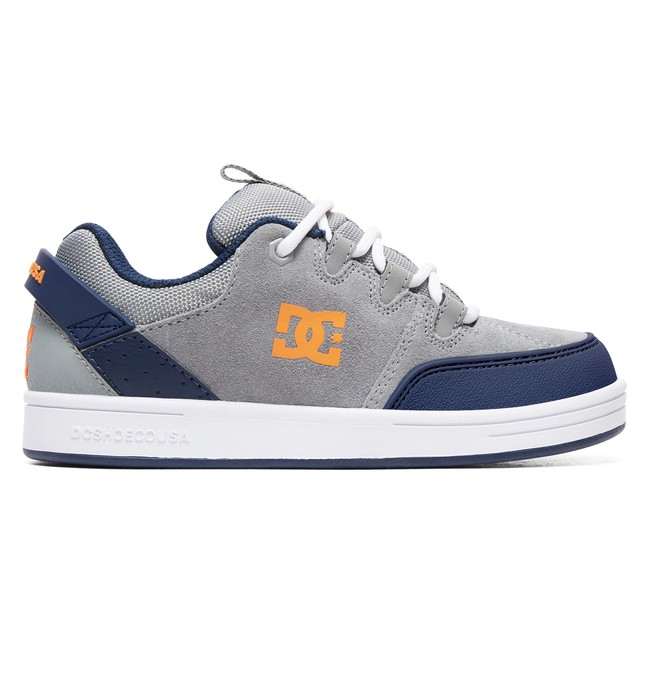 0 Boy's Syntax Shoes Grey ADBS100257 DC Shoes