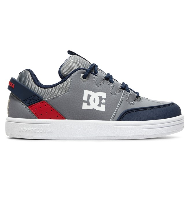 0 Boy's 8-16 Syntax Shoes Grey ADBS100257 DC Shoes