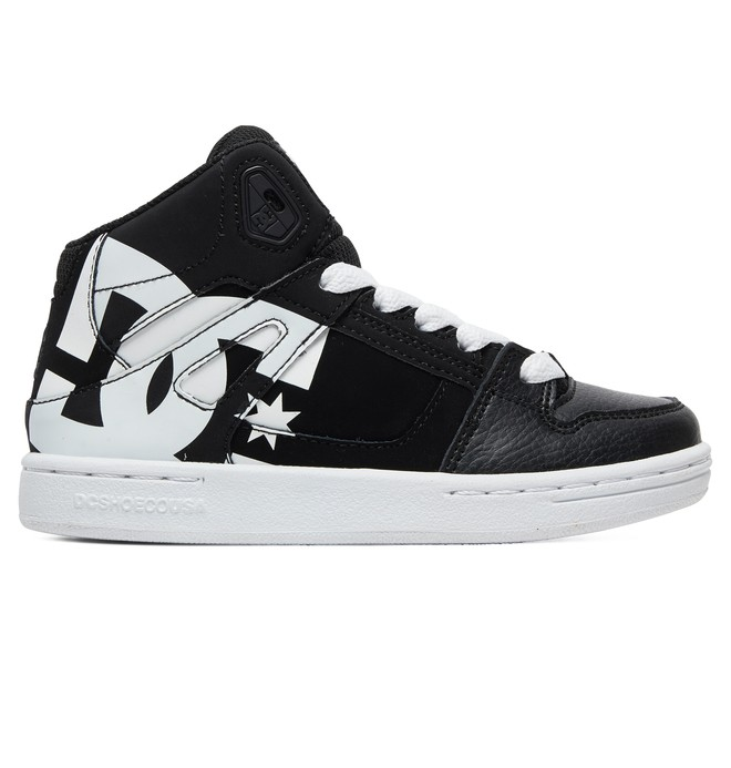0 Boy's 8-16 Pure HT SP High-Top Shoes Black ADBS100258 DC Shoes