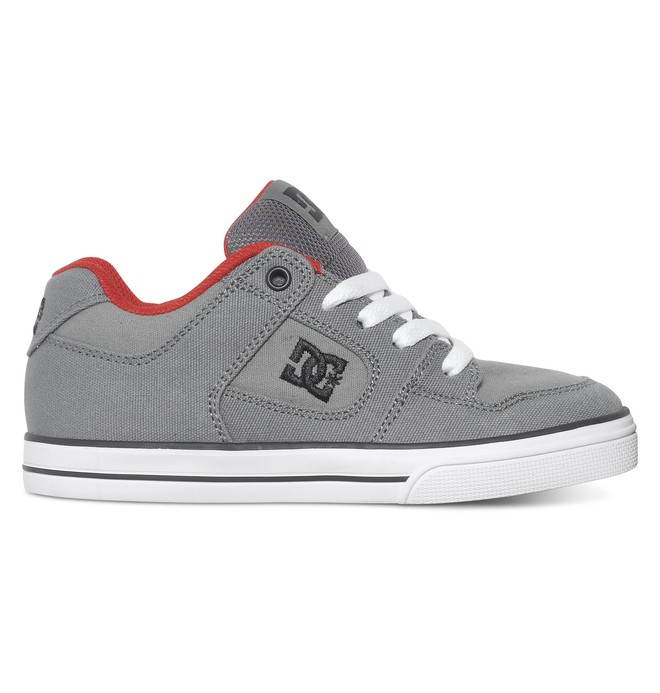 0 Boy's Pure TX Shoes  ADBS300007 DC Shoes