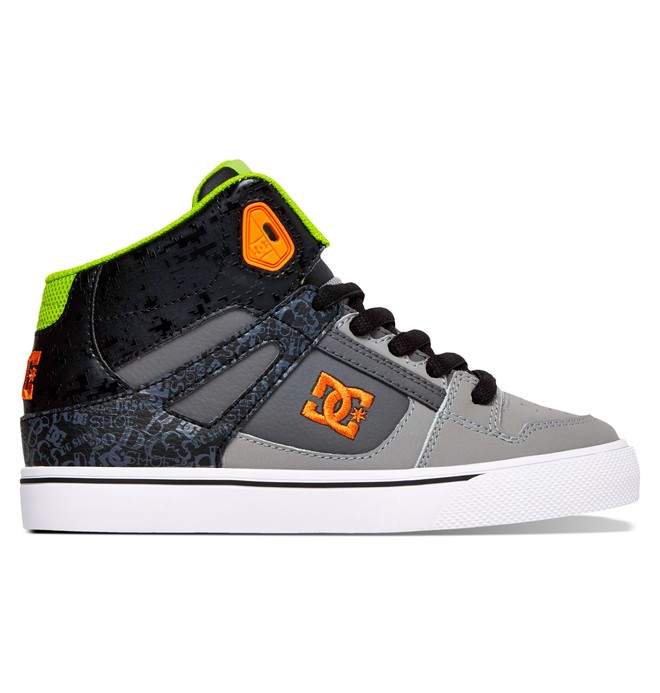 0 Girl's 8-16 Spartan SE High-Top Shoes  ADBS300029 DC Shoes