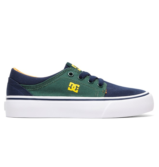 0 Boy's 8-16 Trase TX Shoes Grey ADBS300083 DC Shoes