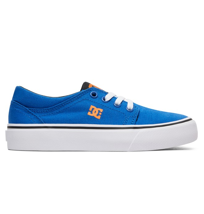 0 Boy's 8-16 Trase TX Shoes Blue ADBS300083 DC Shoes