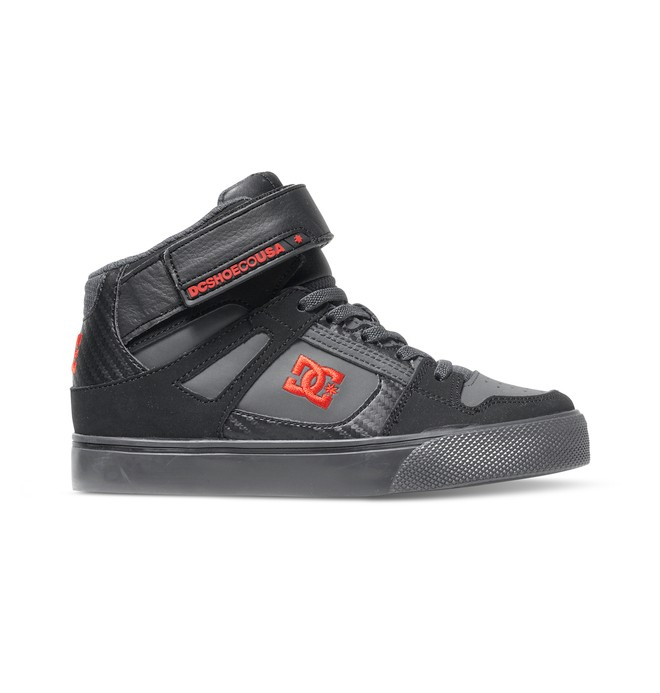 0 Kid's 4-7 Spartan SE EV High-Top Shoes  ADBS300112 DC Shoes