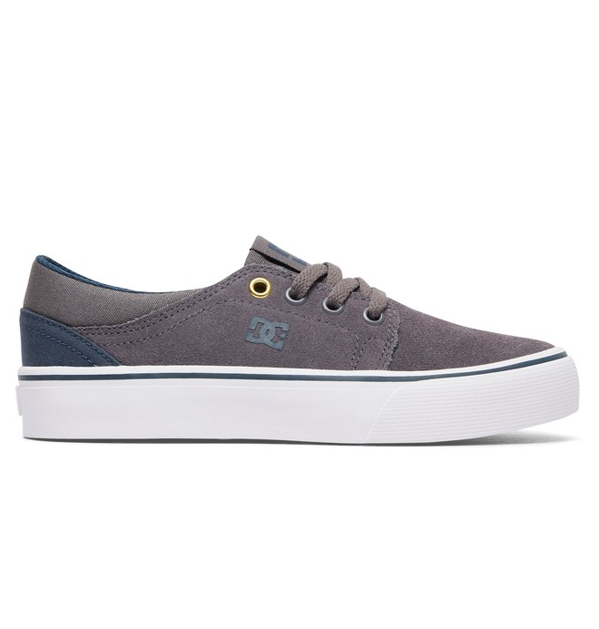 0 Trase - Shoes for Boys Grey ADBS300138 DC Shoes