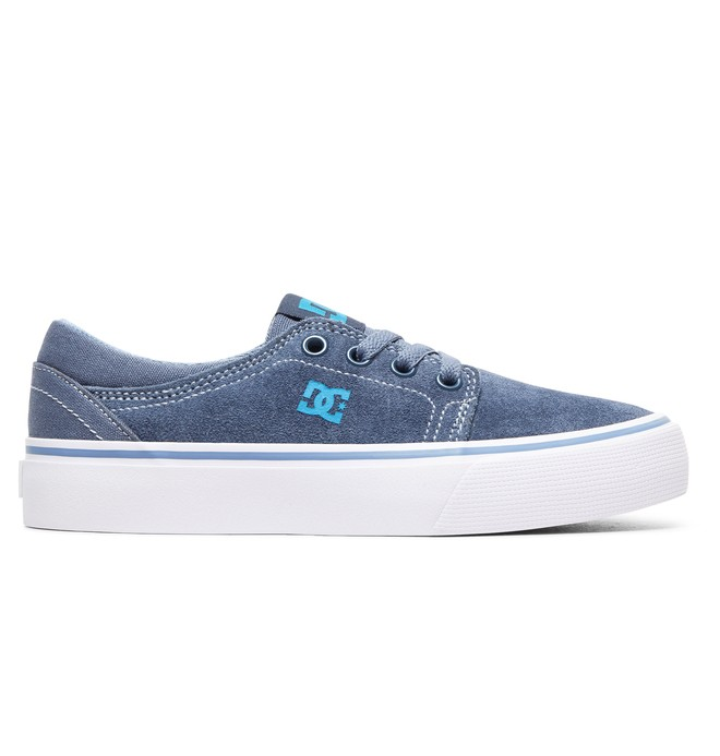 0 Boy's 8-16 Trase Shoes Blue ADBS300138 DC Shoes