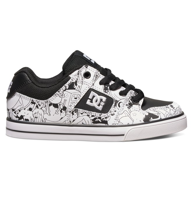 0 Boy's 8-16 Pure X AT Shoes  ADBS300191 DC Shoes