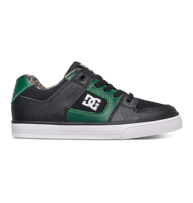 0 Boy's 8-16 Pure Elastic SE Slip On Shoes  ADBS300223 DC Shoes