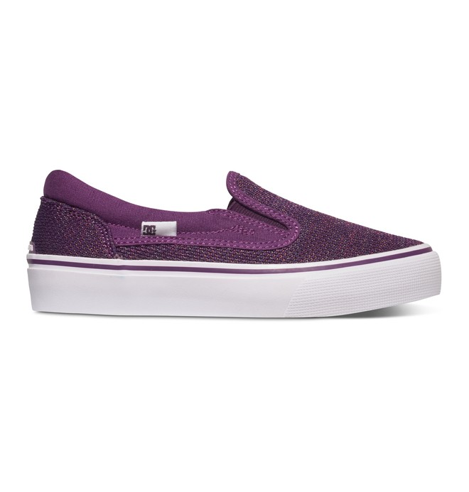 0 Girl's Trase TX SE Slip On Shoes  ADBS300225 DC Shoes
