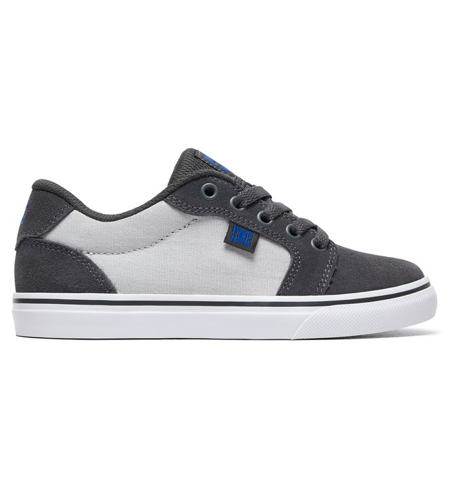 0 Boy's 8-16 Anvil Shoes Grey ADBS300245 DC Shoes