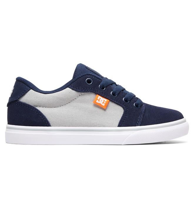 0 Boy's 8-16 Anvil Shoes Blue ADBS300245 DC Shoes
