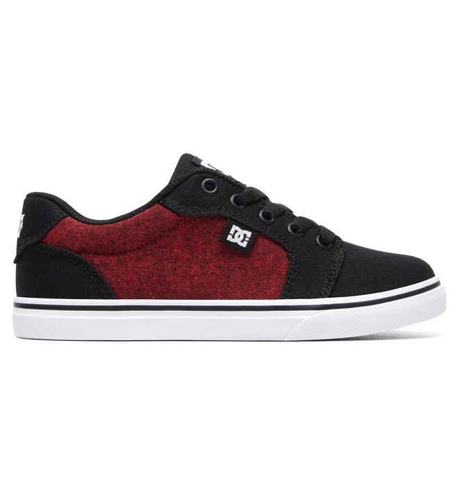 0 Boy's Anvil TX SE Shoes Black ADBS300246 DC Shoes