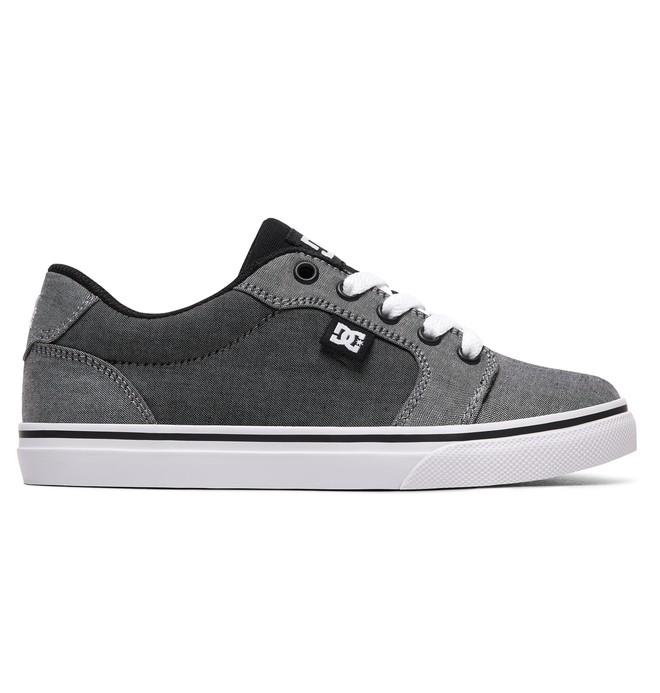 0 Boy's Anvil TX SE Shoes Black ADBS300246 DC Shoes