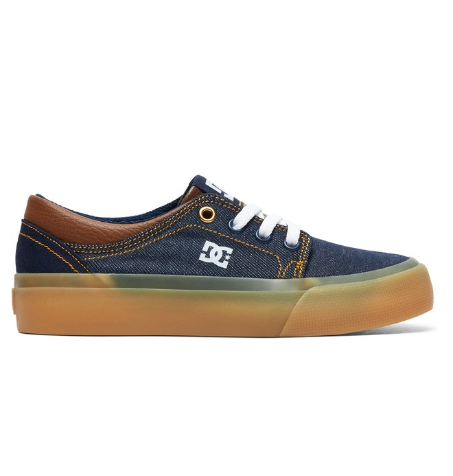 0 Boy's 8-16 Trase TX SE Shoes Blue ADBS300252 DC Shoes