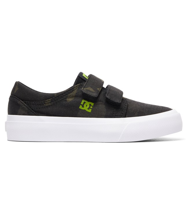 0 Boy's Trase V TX SE Shoes Grey ADBS300254 DC Shoes