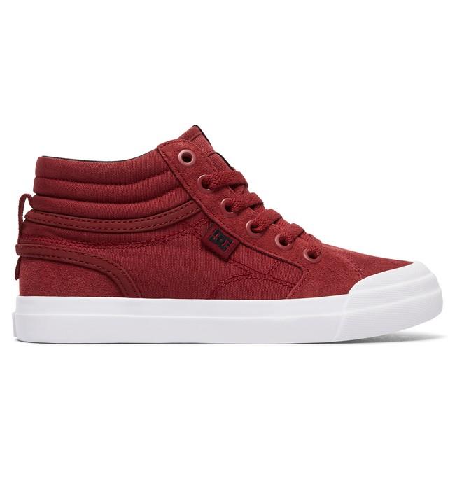 0 Evan Hi - Scarpe alte Red ADBS300255 DC Shoes