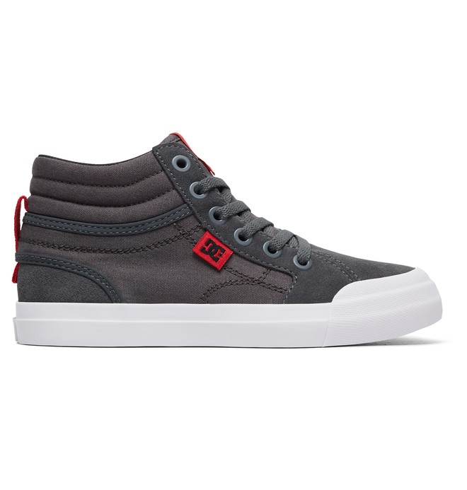 0 Zapatos Parte Superior Alta HI Evan Gris ADBS300255 DC Shoes