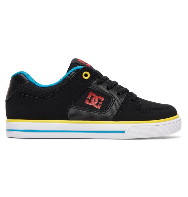 0 Pure - Elastic-Laced Shoes for Boys Black ADBS300256 DC Shoes