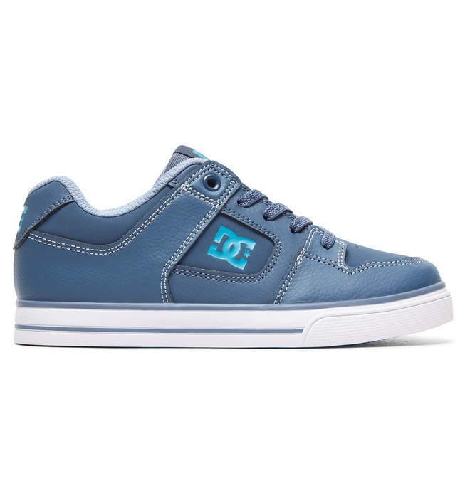 0 Boy's 8-16 Pure Elastic Shoes Blue ADBS300256 DC Shoes