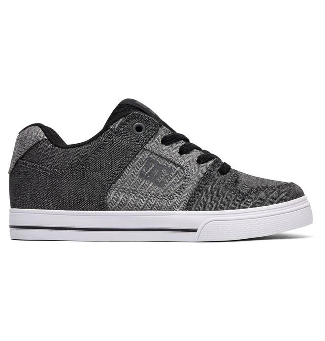 0 Niños 4-7 Zapatos de Meter  Elástico PuroTX SE Negro ADBS300257 DC Shoes