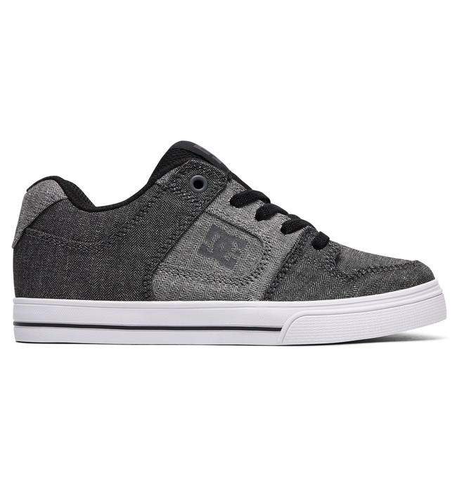 0 Kid's Pure Elastic TX SE Shoes Black ADBS300257 DC Shoes