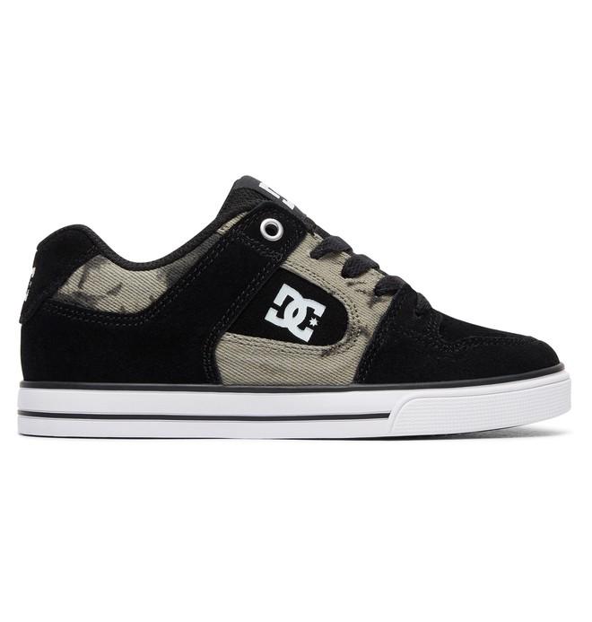 0 Boy's Pure SE Shoes Black ADBS300258 DC Shoes