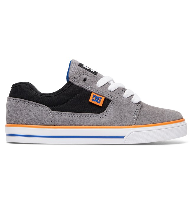 0 Tonik - Shoes for Boys Gray ADBS300262 DC Shoes