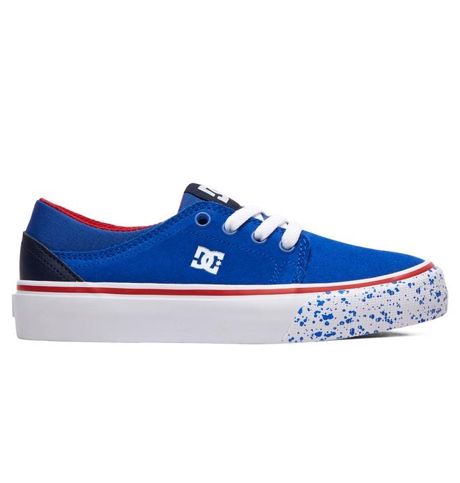 0 Boy's 8-16 Trase SE Shoes Blue ADBS300264 DC Shoes